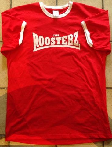 Red & White Men's Shirt