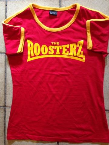 Red & Yellow Women's Shirt