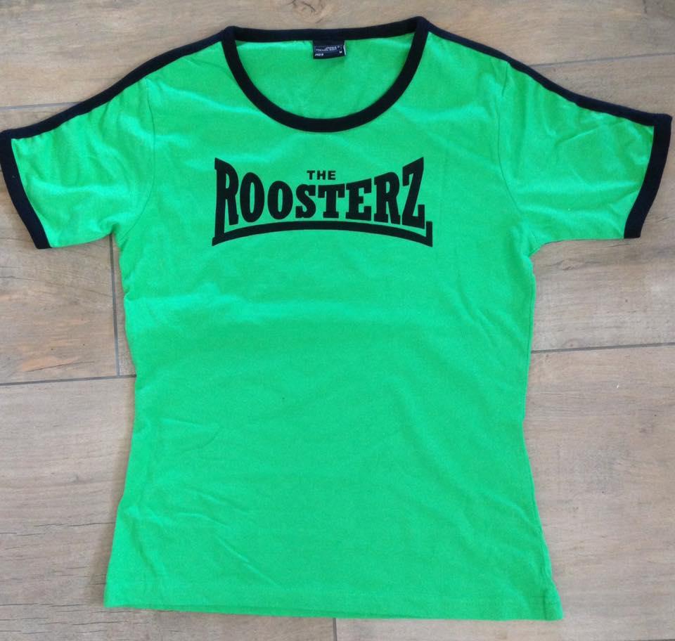 Green & Black Women's Shirt