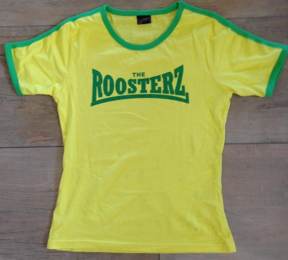 Yellow & Green Women's Shirt