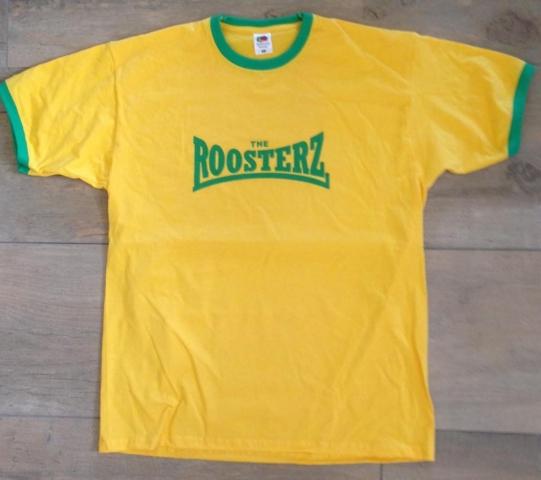 Yellow & Green Men's Shirt